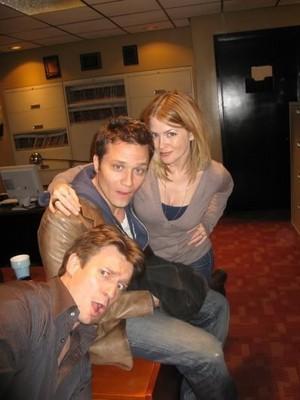 Nathan,Seamus and Juliana-BTS
