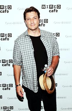 Nathan at the Comic Con(July,2014)