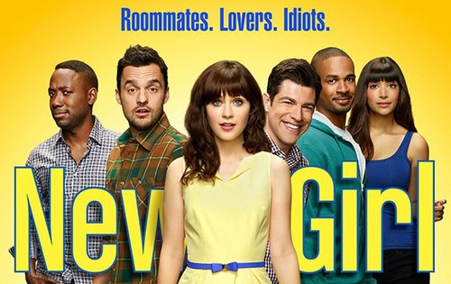 New Girl wallpaper probably containing a portrait entitled New Girl - Season 4 - Promotional Poster
