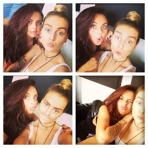 New Perrie and Jesy selfie