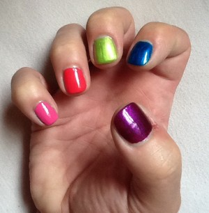 New as cores