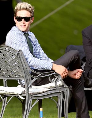 Niall at Johannah and Dan's wedding (20.07.2014) - x