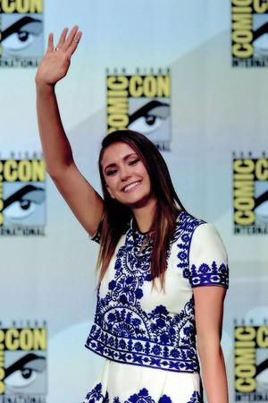 Nina Dobrev - Comic Con 2014
