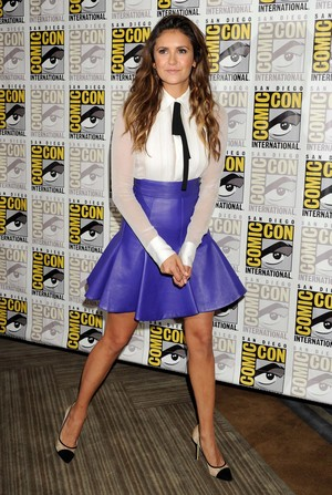 Nina @ Let's Be Cops Comic Con Press Line - July 25