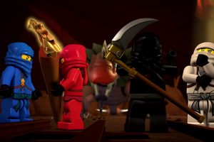 Ninjago- Pilot Season-Episode 2: The Golden Weapons HD Screencaps