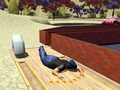 Note to self - bowling alleys are slippery - the-sims-3 photo