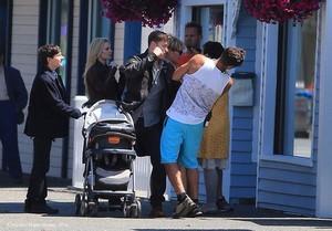 OUAT cast on set 16.7.2014