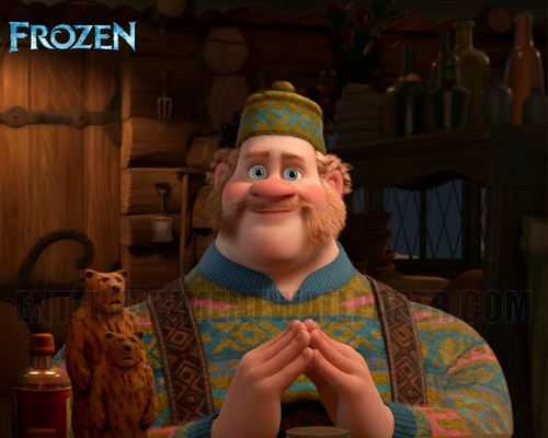 Frozen wallpaper called Oaken Wallpaper