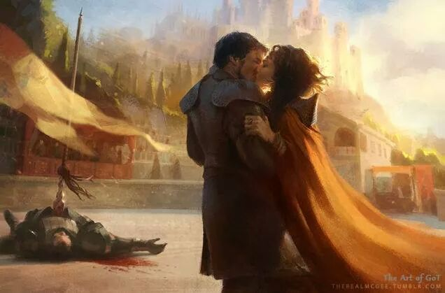 Oberyn Martell and Ellaria Sand - Game of Thrones Fan Art ...