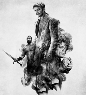 Oberyn, Tyrion and the Mountain