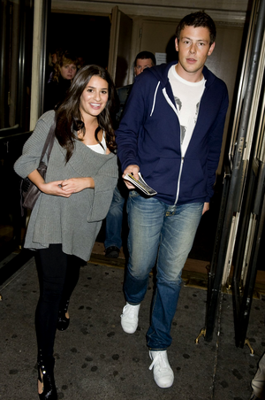 October, 11 2009 - Leaving the Brooks Aktinson Theater in NYC