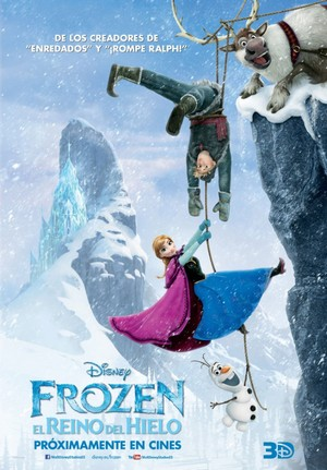 Official Frozen Spanish Poster