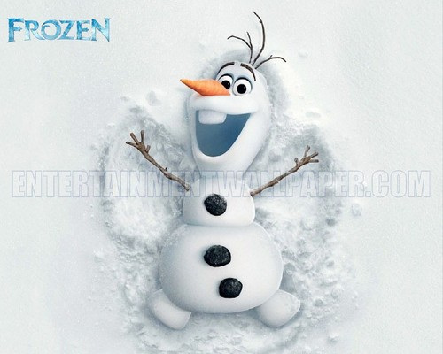Frozen wallpaper titled Olaf wallpaper