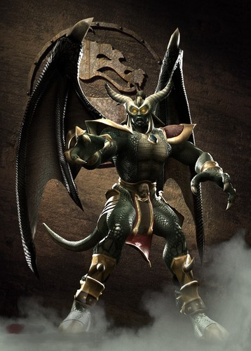 Mortal Kombat (Смертельная битва) Обои possibly containing a breastplate and an armor plate called Onaga: Winged deity