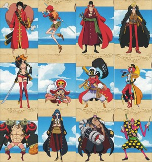 One Piece Film Z Characters