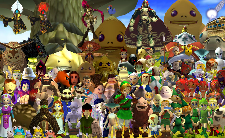 OoT characters.