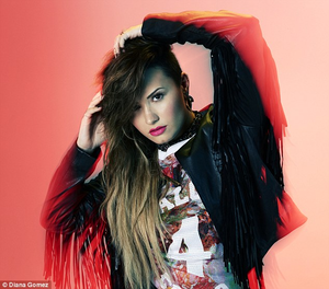 Outtakes of Demi's photoshoot for bạn Magazine