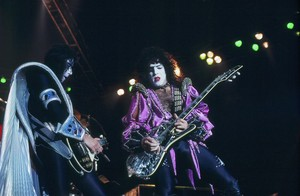 Paul Stanley and Ace Frehley