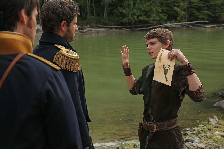 Peter Pan - Once upon a time-Peter Pan(Robbie Kay) Photo ...