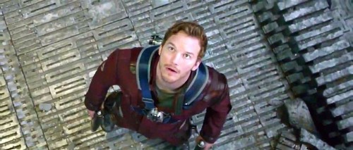 Guardians of the Galaxy 바탕화면 possibly containing a 거리 and a portcullis called Peter Quill