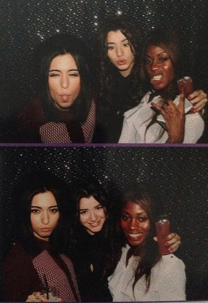 Eleanor with Friends from the New Year's Party 2012
