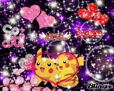 Pikachu girl and boy Liebe