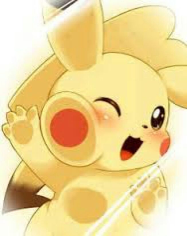 Pikachu so cute