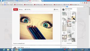 Pinterest eye art