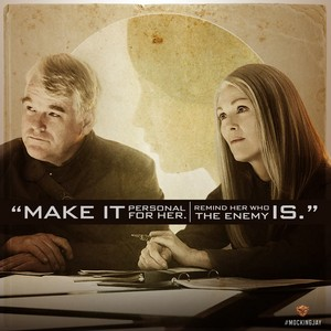 Plutarch Heavensbee and Alma Coin devise a plan.