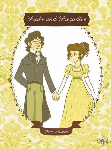 Jane Austen wallpaper probably with anime titled Pride and Prejudice