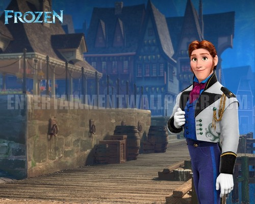 Frozen wallpaper with a street, a business suit, and a well dressed person entitled Prince Hans Wallpaper