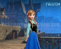 Princess Anna Wallpaper