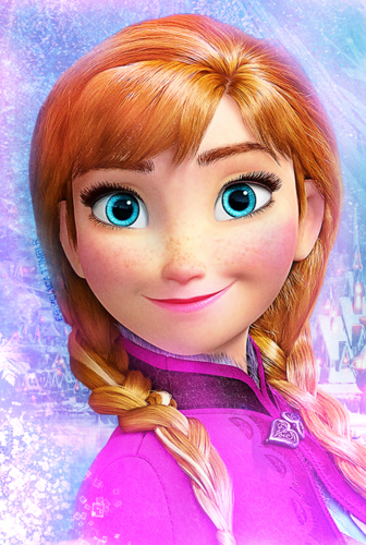 Frozen wallpaper entitled Princess Anna