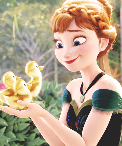 Frozen wallpaper probably with a bouquet entitled Princess Anna