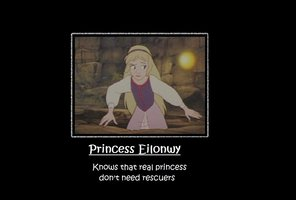 Childhood Animated Movie Heroines wallpaper called Princess Eilonwy: Knows that real princesses don't need rescuers