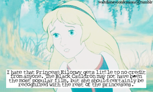 Princess Eilonwy gets little to no credit
