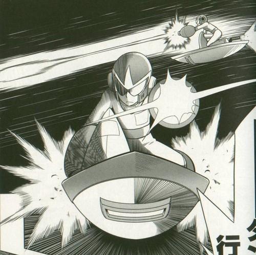 Megaman দেওয়ালপত্র titled Protoman in Gigamix