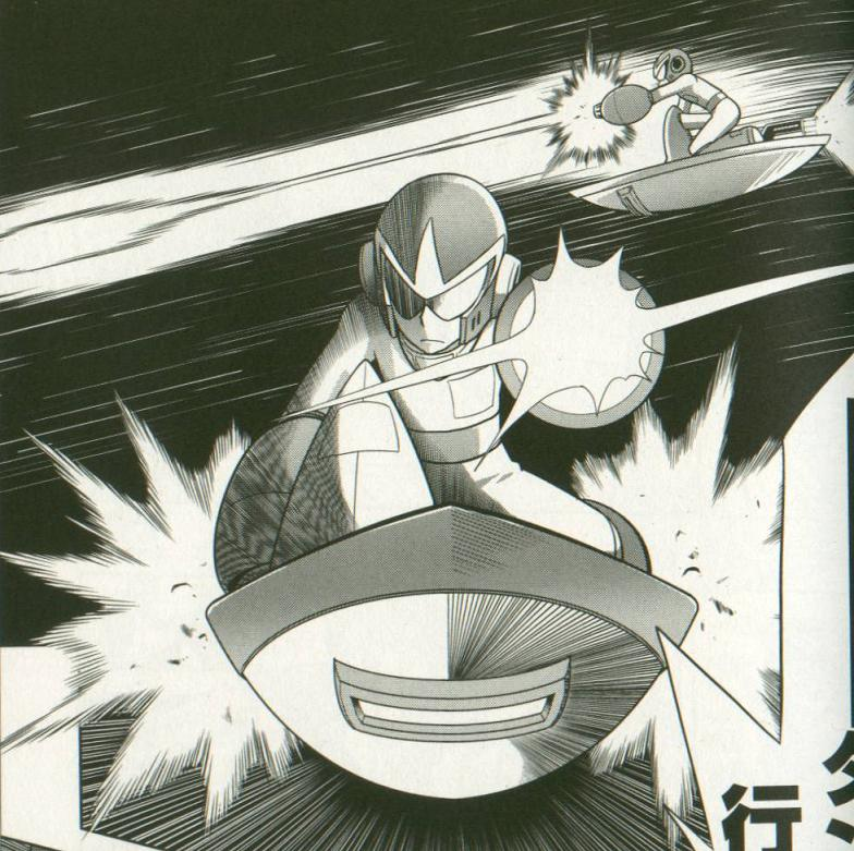 Protoman in Gigamix