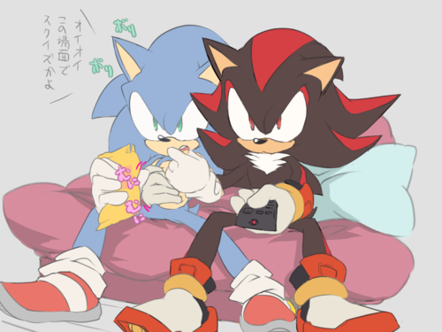 Sonadow wallpaper possibly with anime titled Quality Time Together♡