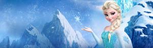 Queen Elsa Banner