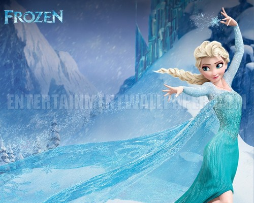 Frozen wallpaper called Queen Elsa Wallpaper