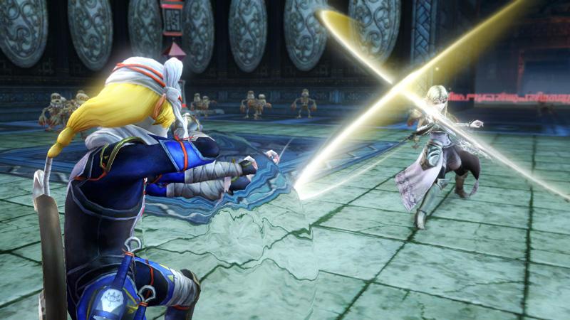 Queen Zelda? and Sheik in Hyrule Warriors