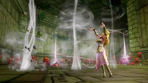 queen Zelda in Hyrule Warriors