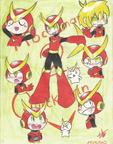 Megaman wallpaper called Quickman pic
