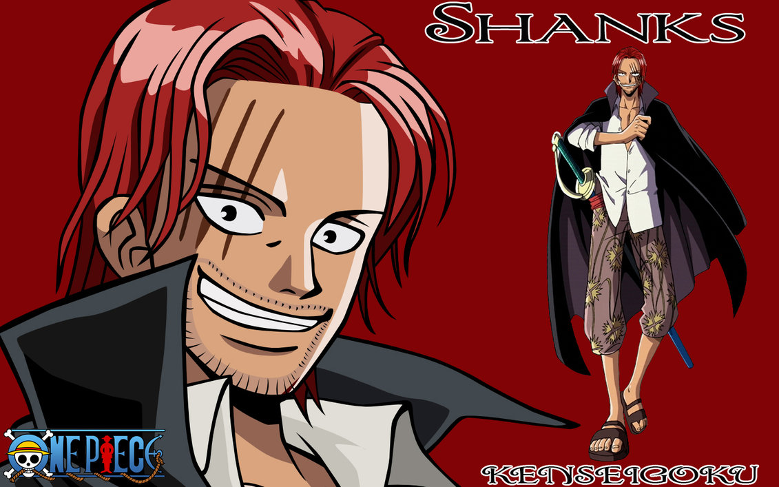 Red Hair Shanks Images Red Haired Shanks Hd Wallpaper And Background