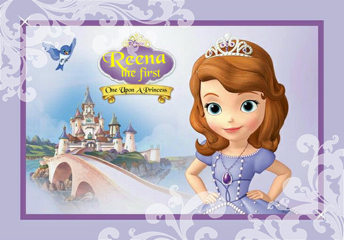 Sofia The First kertas dinding called Reena Sample