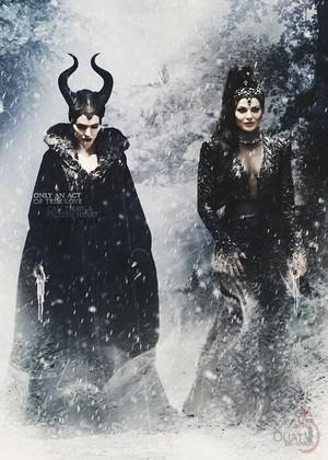 Regina Mills & Maleficent!