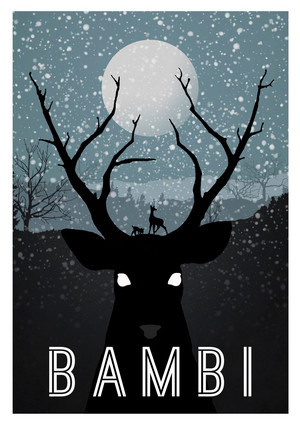 Retro Poster - Bambi