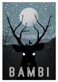 Retro Poster - Bambi - classic-disney photo