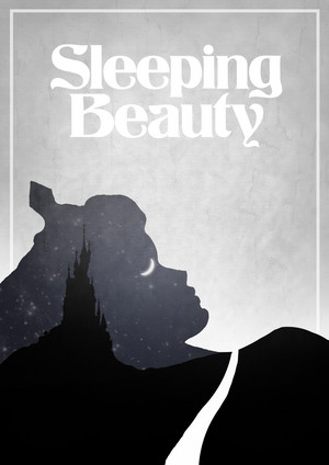 Retro Poster - Sleeping Beauty